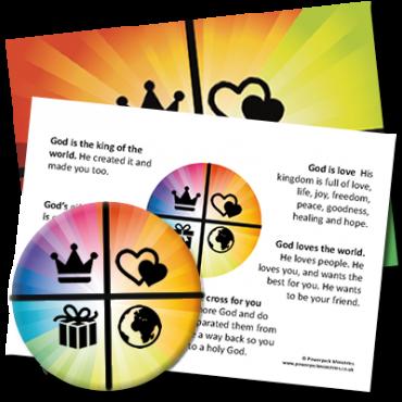 Share The Gospel Badge